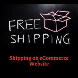 Add free shipping on eCommerce website