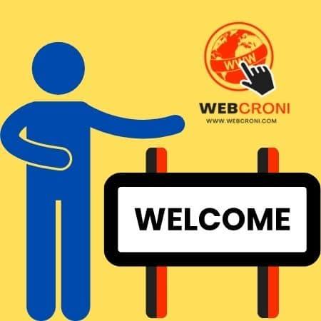 Welcome to Webcroni.com