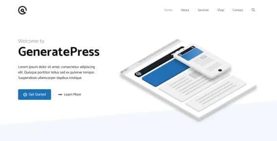 GeneratePress - Fastest Theme
