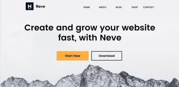 Neve - Free fast WordPress theme